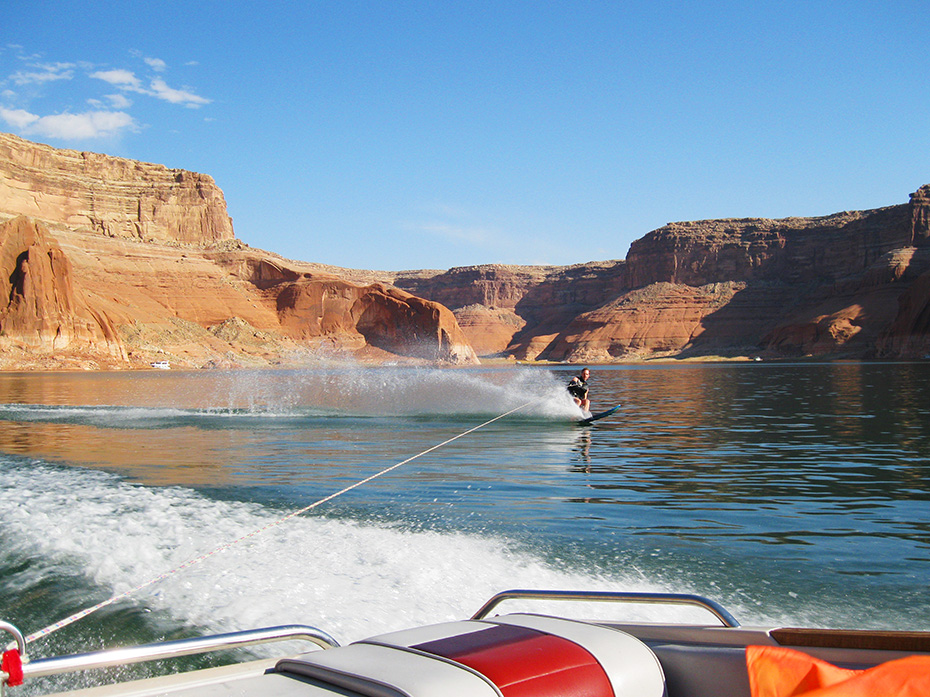 Erich Smidt enjoy what Lake Powell has to offer!
