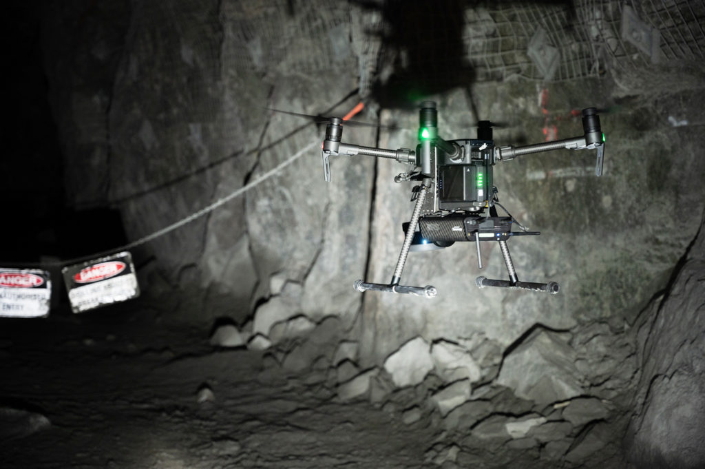 Emesent's Autonomy Level 2 (AL2) technology for Hovermap, using Velodyne's lidar sensors, enables companies to rapidly map, navigate and collect data in challenging inaccessible environments.