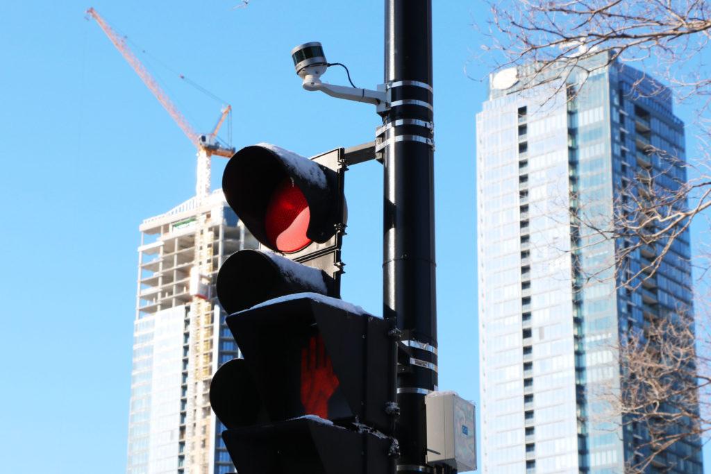 Blue City Technology's Smart City Solution, using Velodyne Lidar's Ultra Puck sensor, installed for traffic monitoring