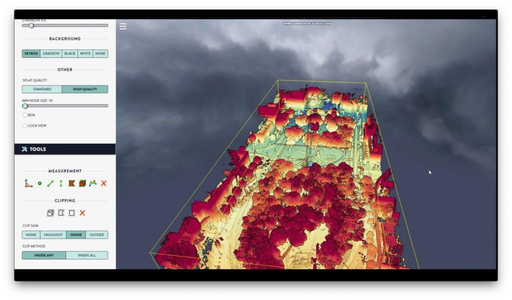 Kaarta Cloud Visualization Tool Using Velodyne Lidar Data