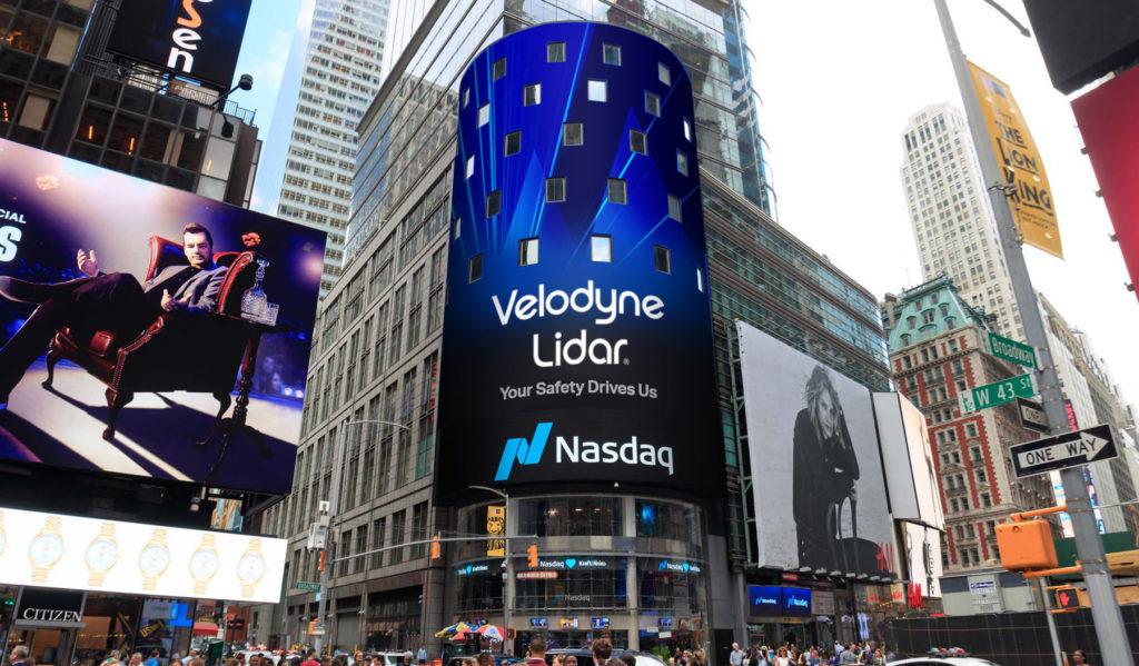 Velodyne Lidar Goes Public